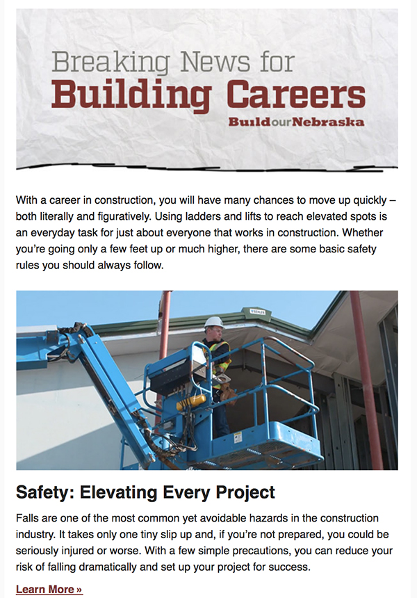 Safety: Elevating Every Project