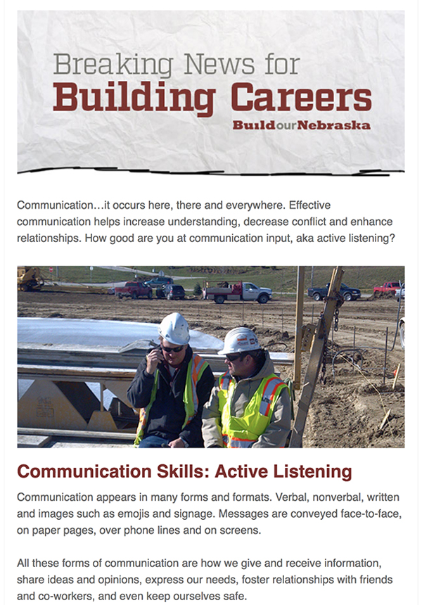 Communication Skills: Active Listening